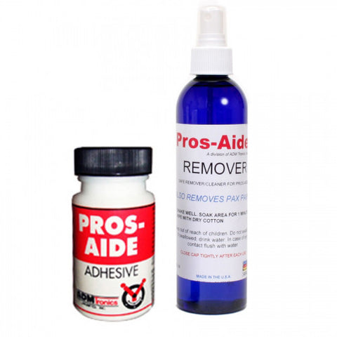 Pros-Aide Adhesive & Remover Bundle
