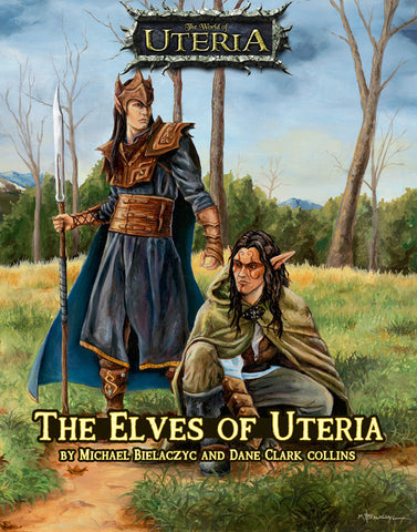 The Elves of Uteria - an RPG Sourcebook - Print Edition