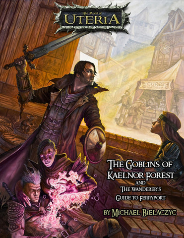 The Goblins of Kaelnor Forest - an RPG Sourcebook - Print Edition