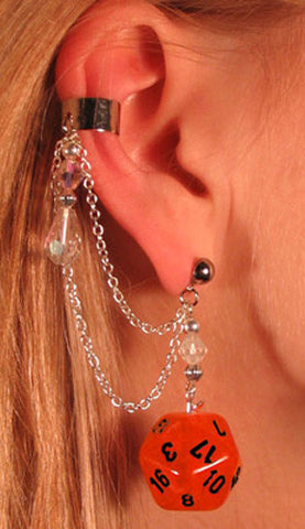 geek chic earring