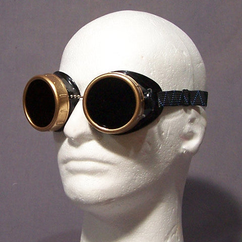 Round Goggles - Painted Rims