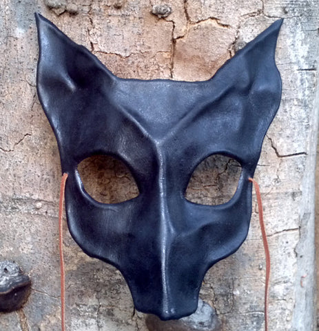 Leather Faun Mask