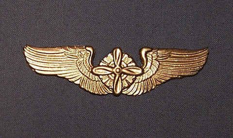 Airship Propeller Wings Pin