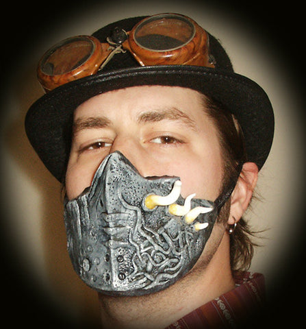 Steampunk Biomorphic Surgical Mask