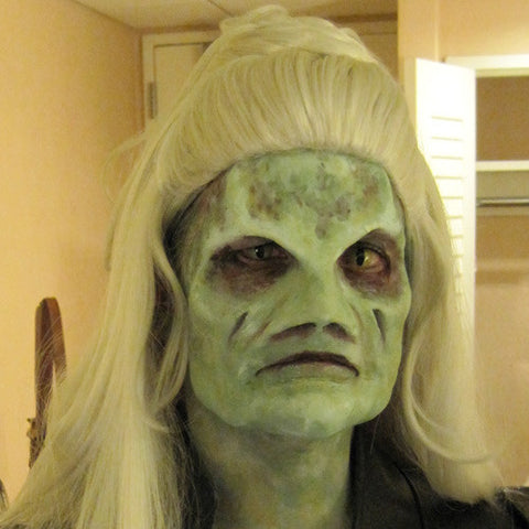 Silicone Female Alien Mask