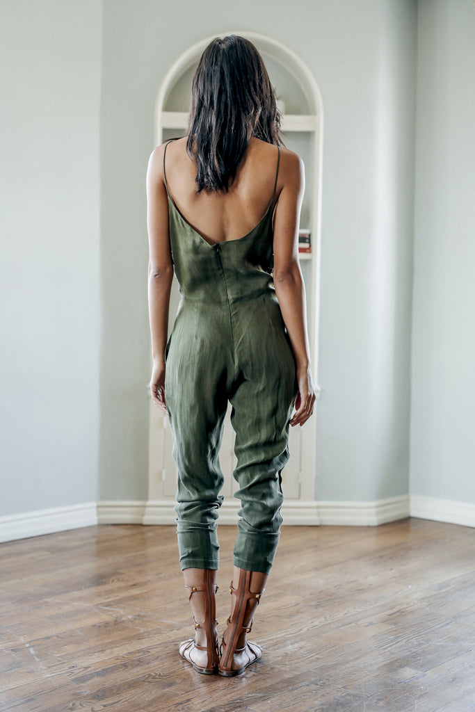 Harper Lattice Jumpsuit