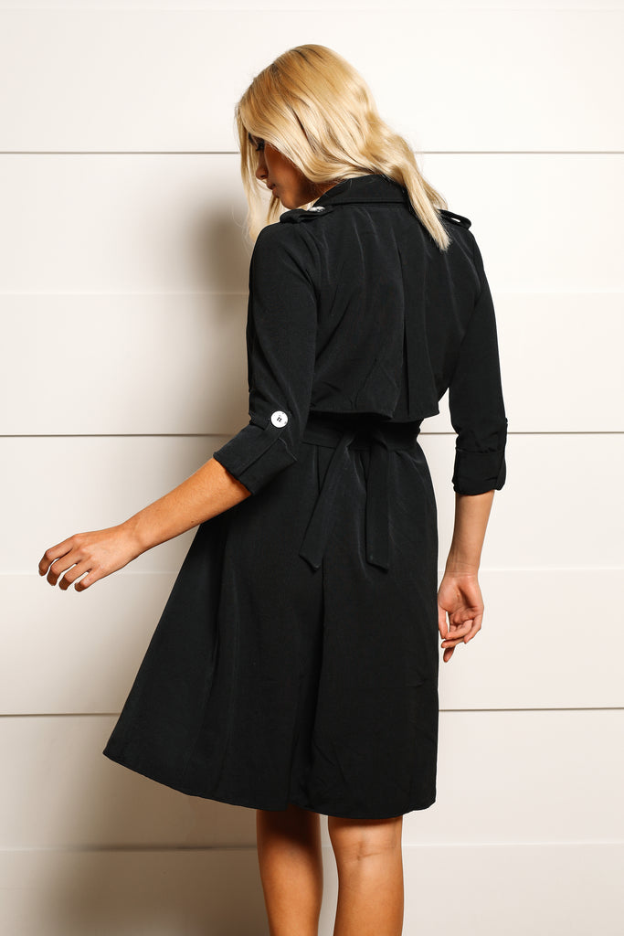 Mia Trench Dress