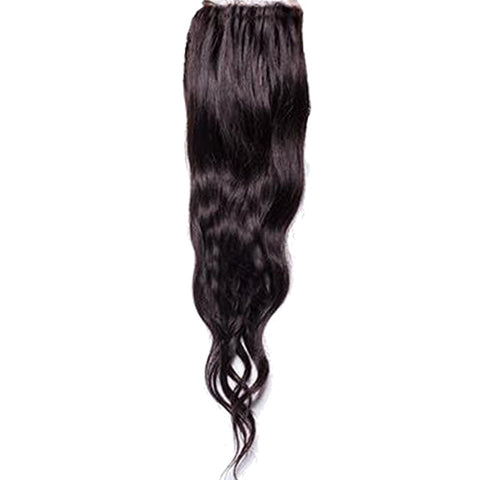 HairDrobe Temple Wavy or Straight Closure