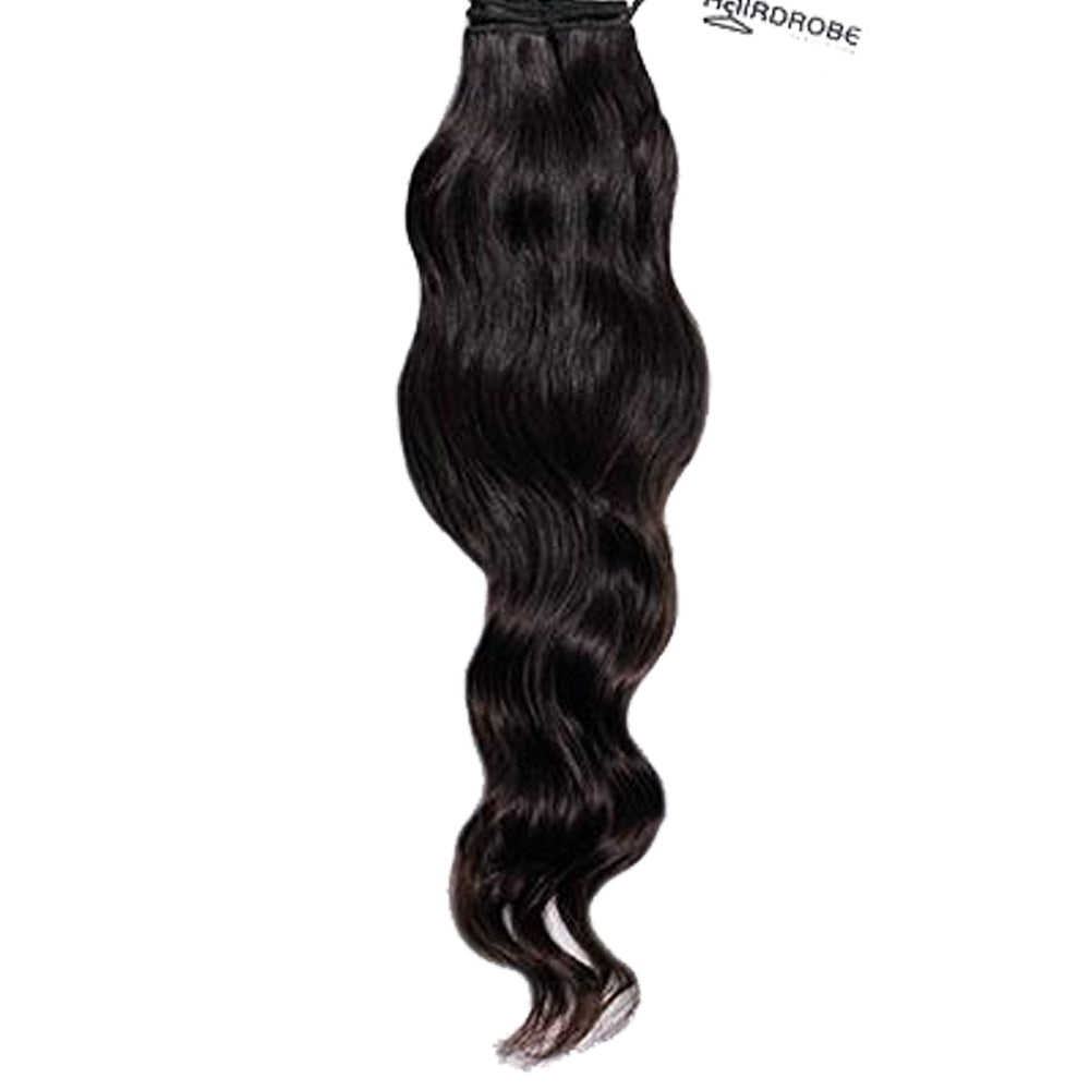 HairDrobe Temple Straight/Wavy Weft