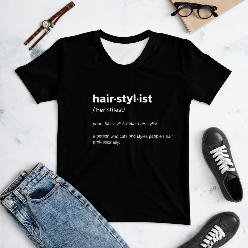 Hairstylist Definition  T-shirt