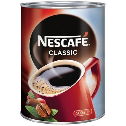 Image of Nescafe Coffee Classic Tin 500g