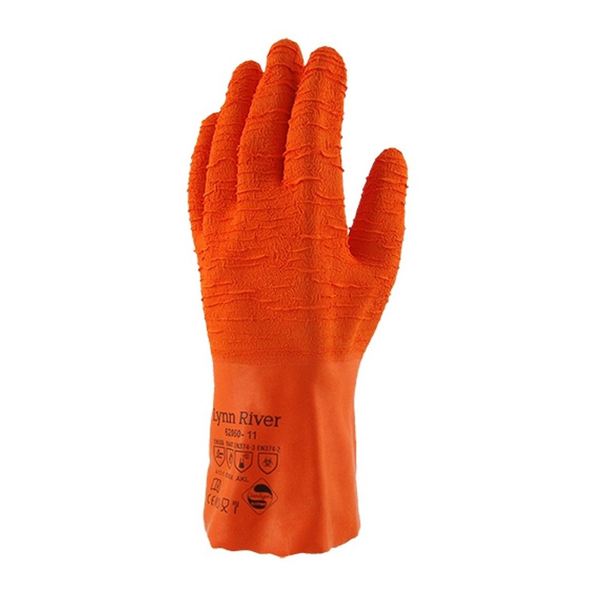 Image of Lynn River Orange Rubber Grip Glove