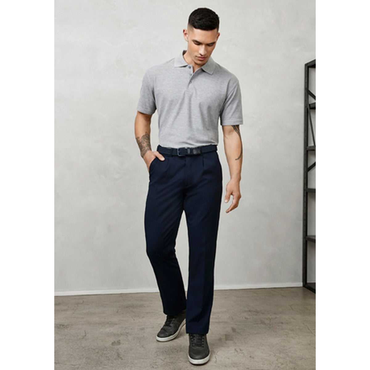 Image of Biz Collection Detroit Pants - Stout
