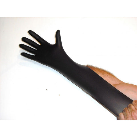 Image of Armour Black Nitrile Gloves