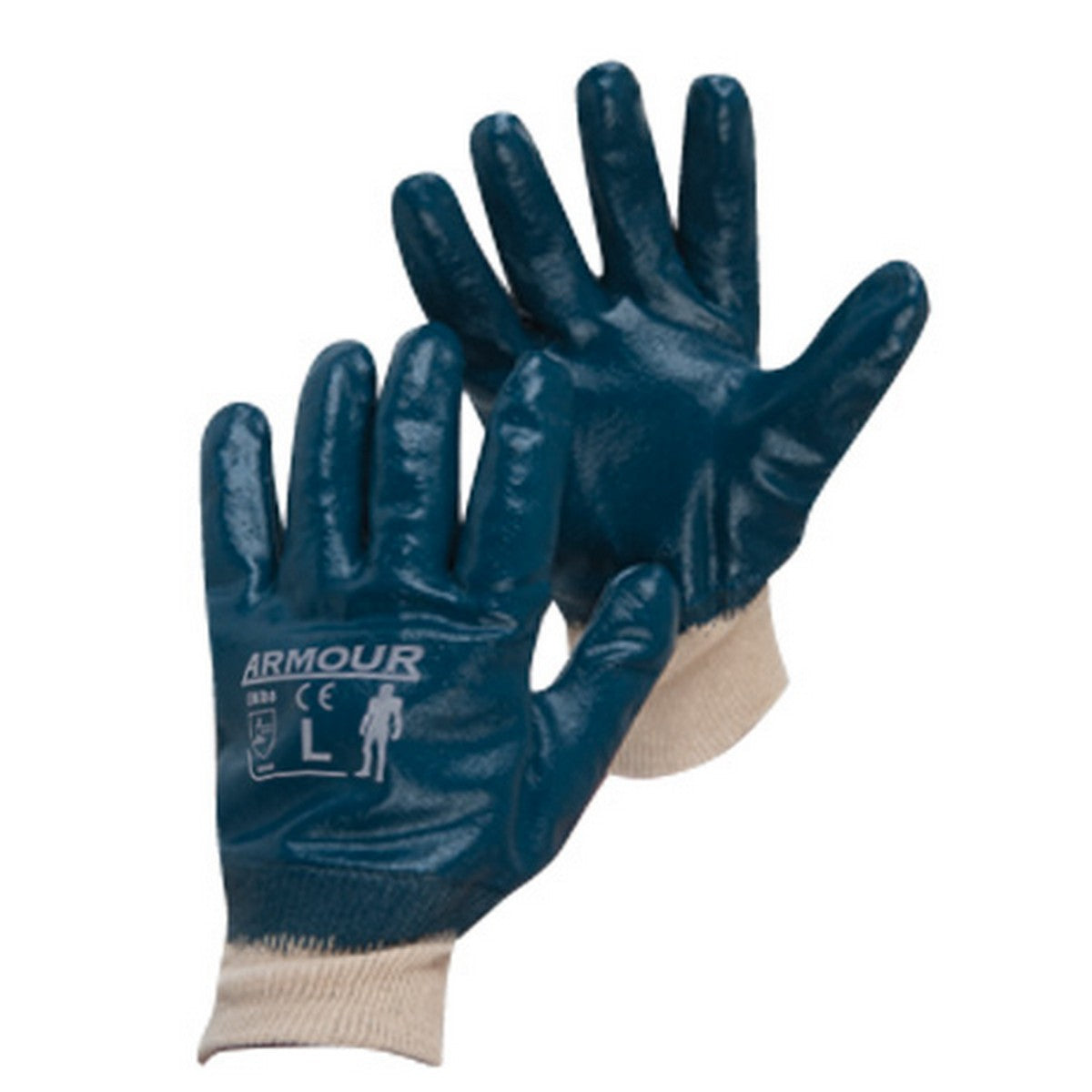 Image of Armour Blue Nitrile Gloves