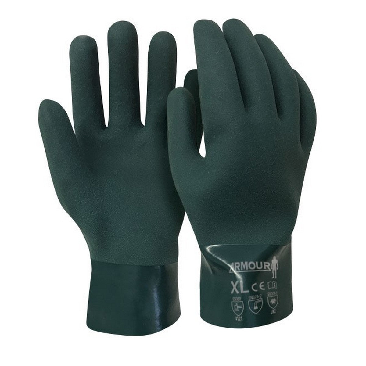 Image of Armour PVC Gauntlet Glove 27cm