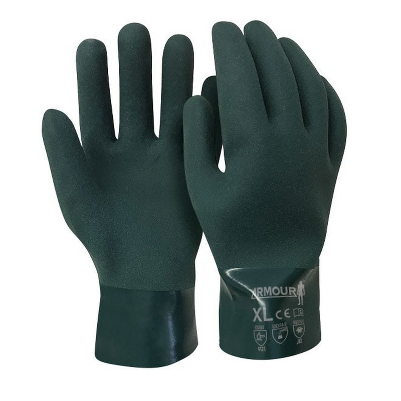 Armour PVC Gauntlet Glove 27cm