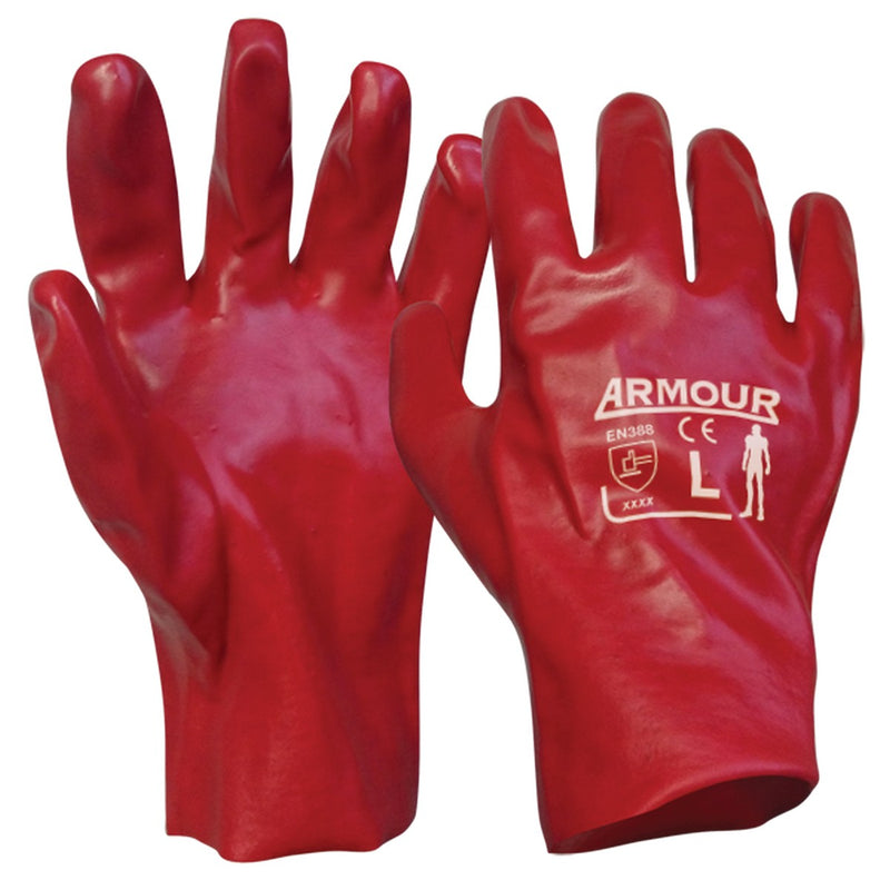 Armour 27cm PVC Gauntlet Glove