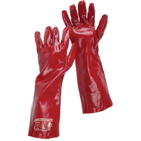 Image of Armour 45cm PVC Gauntlet Glove