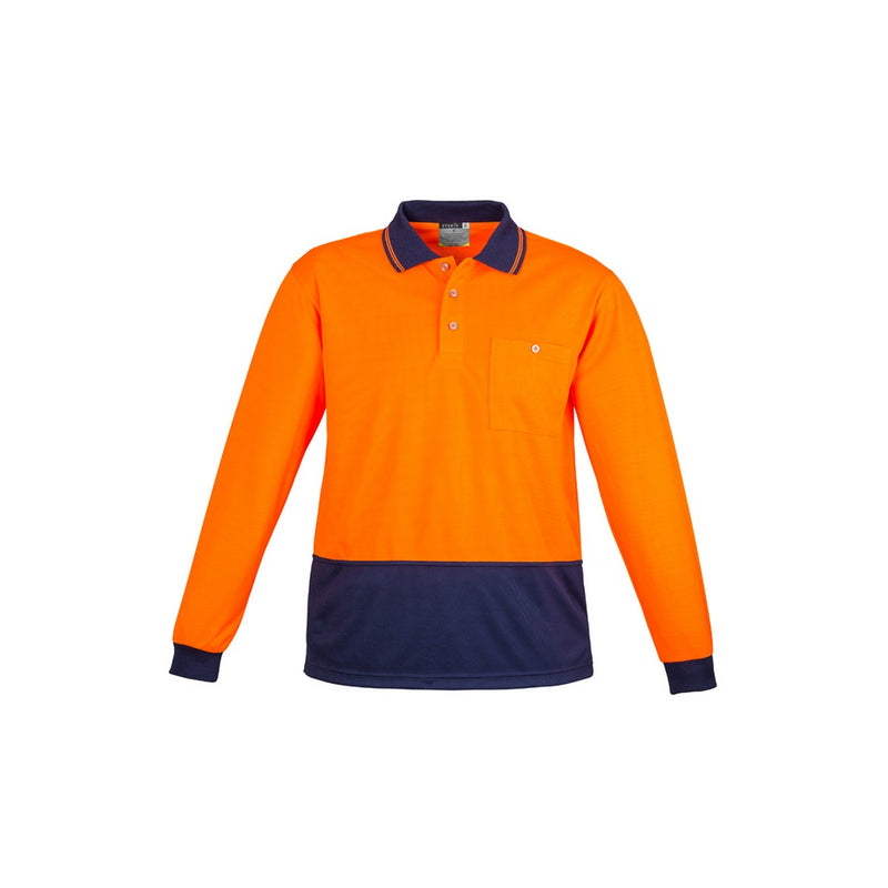Syzmik Basic Long Sleeve Polo