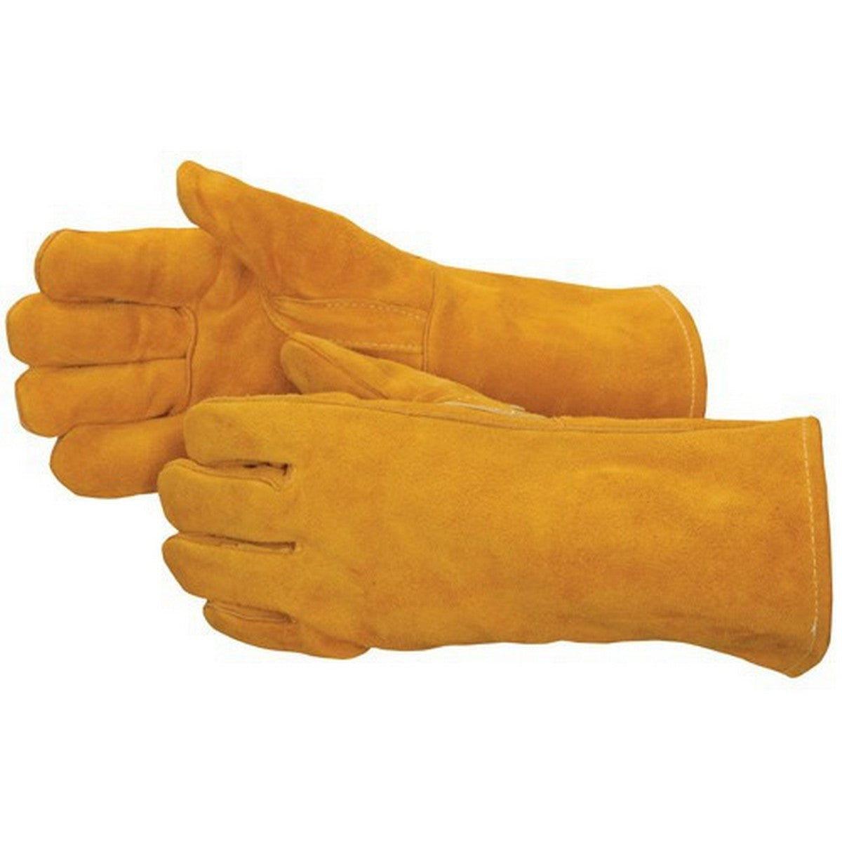Image of Welders Gauntlet glove Mustard