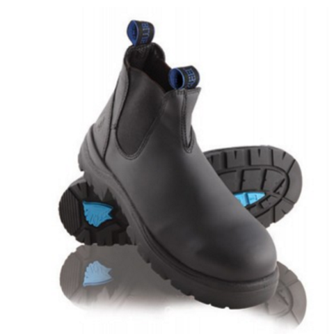 Image of Steel Blue HOBART SLIP-ON BOOT BLACK 312101