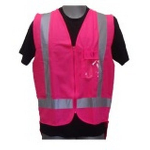 Image of Pink Day/Night Hi-Viz Vest