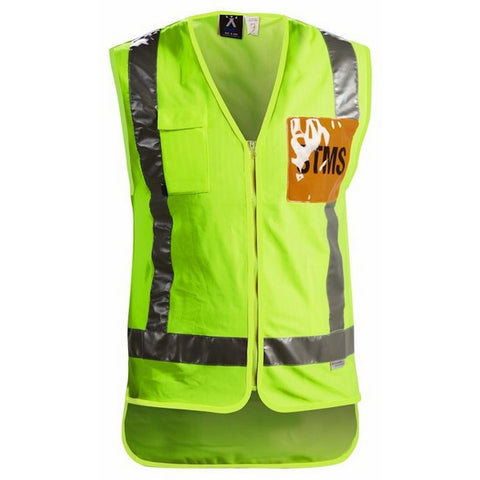 Image of PROTEX TTMC-W STMS YELLOW DAY/NIGHT HIGH VISIBILITY VEST
