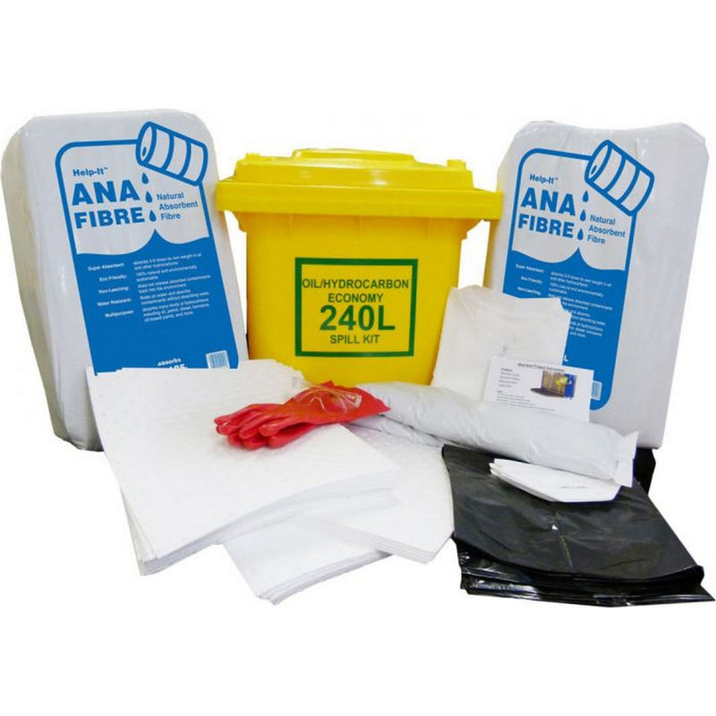 Image of QS Oil 240L Economy Spill Kit