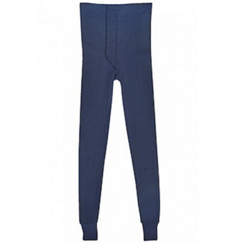Image of Thermadry Navy Polypropylene Pants with Fly