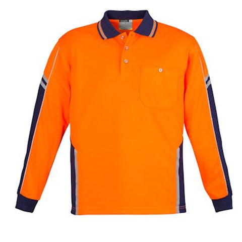 Image of Syzmik Long Sleeve Squad Polo