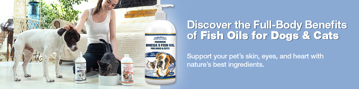 Fish Oils for Dogs and Cats