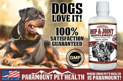 dogs love liquid glucosamine