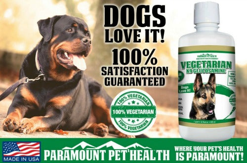 dogs love vegetarian glucosamine