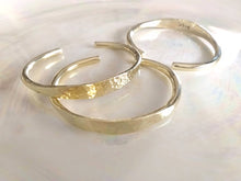 Load image into Gallery viewer, ISLA Hammered Brass Bangles, 18K Gold-Plated Brass