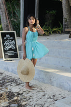 Load image into Gallery viewer, ISLA Multiway Beach Dress In Aqua