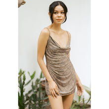 "Load image into Gallery viewer, ""Paloma"" Spaghetti Tie Nighties Slip-on Dress"
