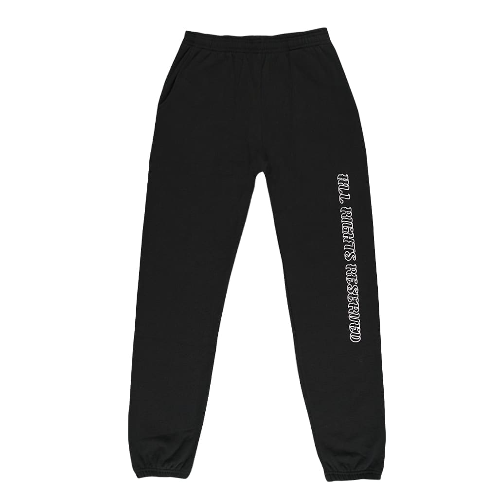 ALL RIGHTS RESERVED SWEATPANTS