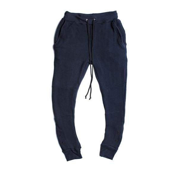 ANTIQUE NAVY THERMAL SWEATPANTS