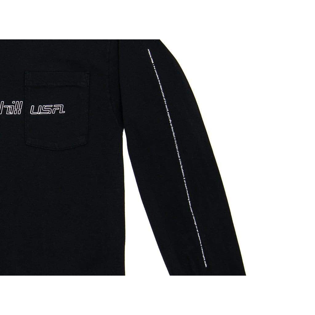 APOCALYPSE LABEL LONG SLEEVE