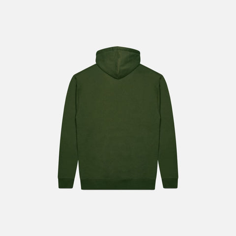 ARMY GREEN ATMOSPHERE HOODIE