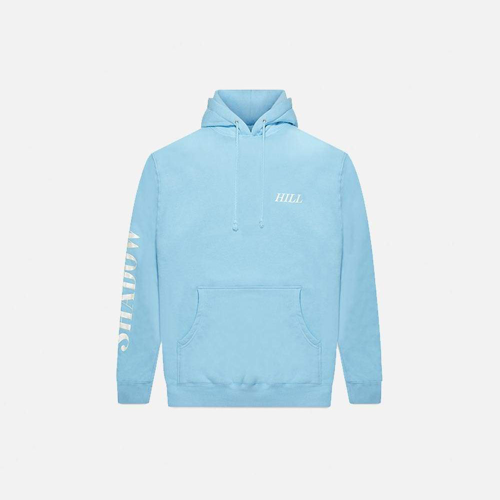 BABY BLUE FOIL PULLOVER
