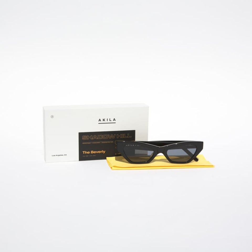 Beverly Sunglasses (BLACK) OS