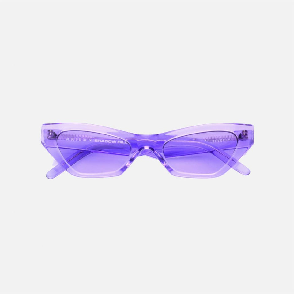 Beverly Sunglasses (electric purple) OS