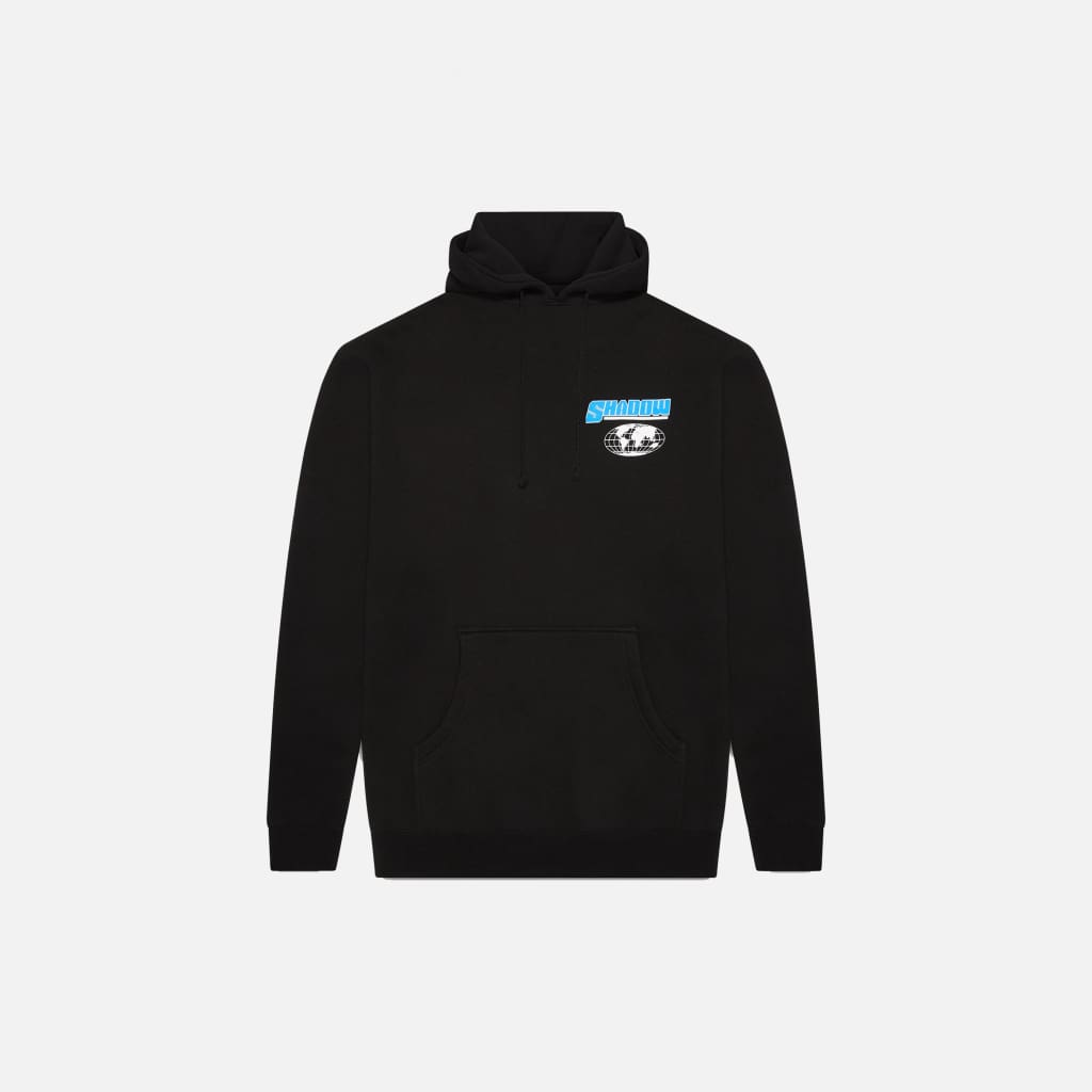 BLACK BE YOURSELF HOODIE