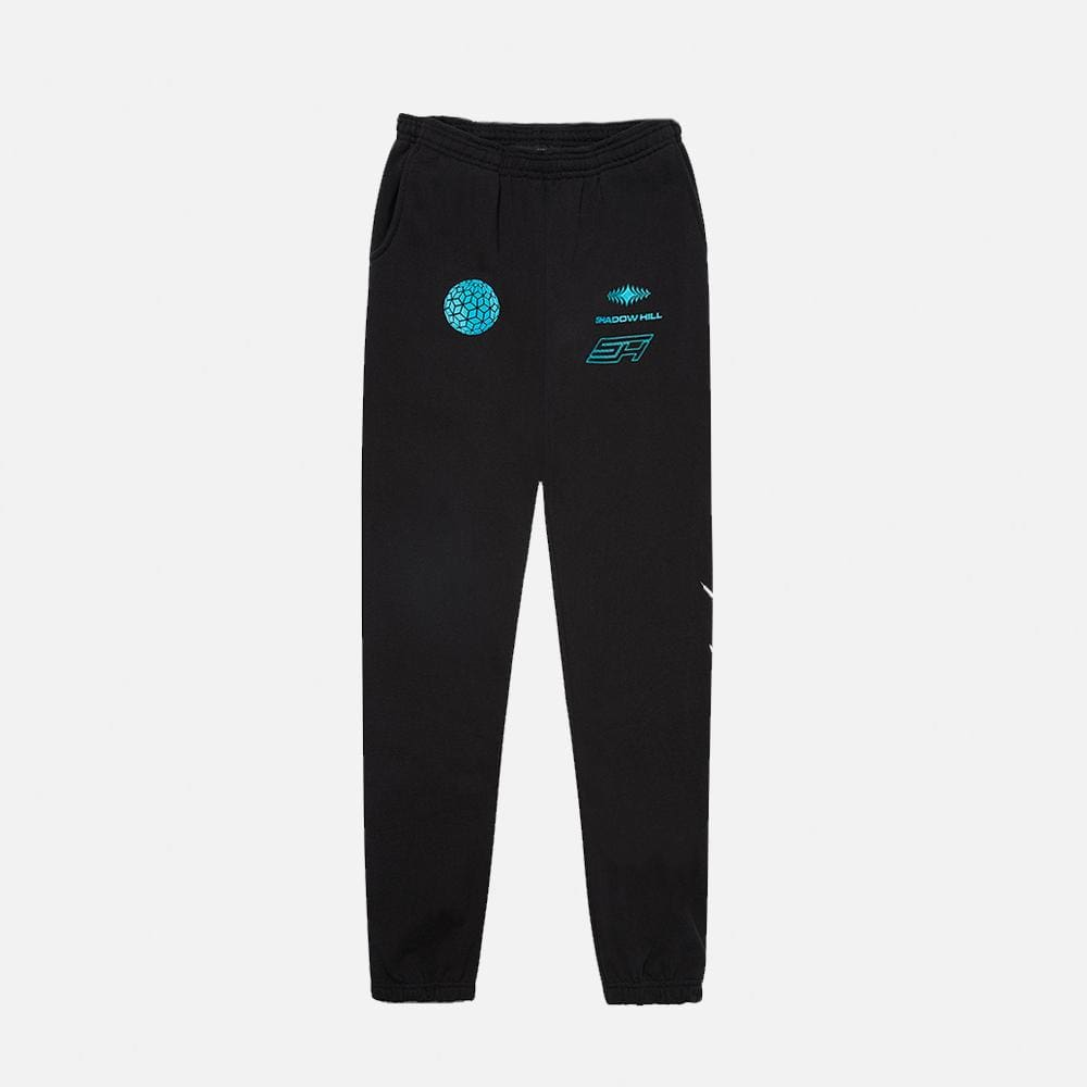 BLACK CORAL SWEATPANTS