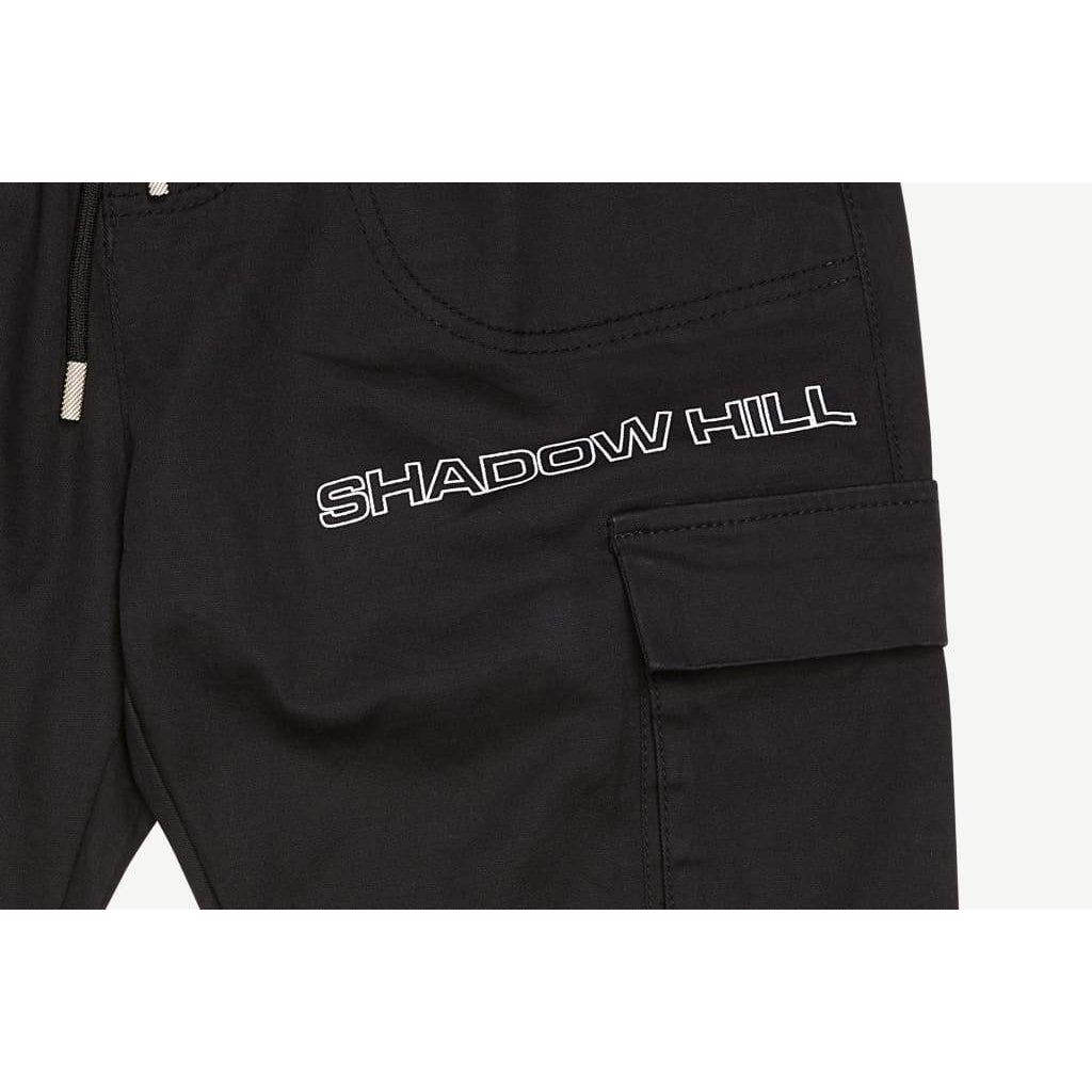 BLACK DEFENDER CARGO PANTS