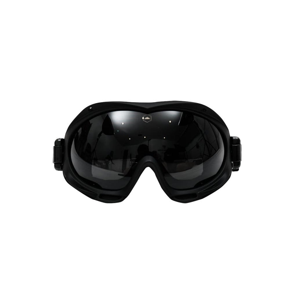 BLACK OUTDOOR SKIING GOGGLES