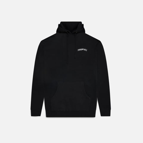Black Oversized Merch Hoodie