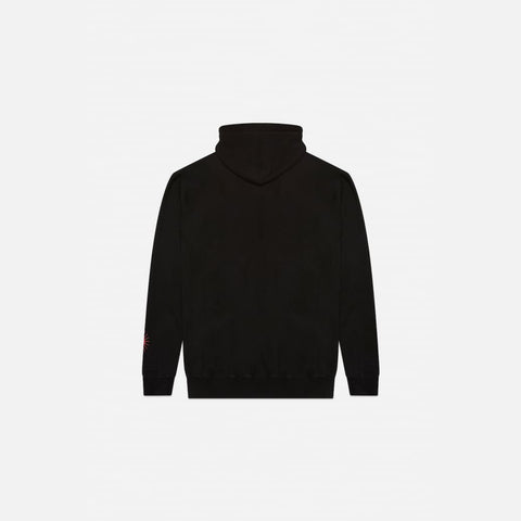 BLACK SHADOW HILL GRADIENT HOODIE